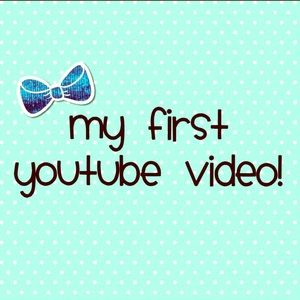 I just uploaded my first YouTube video!